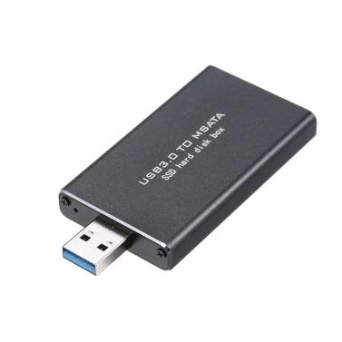 USB3.0 to MSATA SSD Enclosure Portable External Hard Disk Box USB Disk Driver Support TRIM