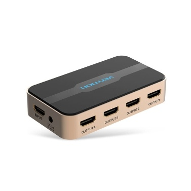 VENTION HD Switcher HD 1 in 4-Splitter mit 4K Full HD 1080P 3D-Effekt für Laptop / STB / XBOX / Projektor
