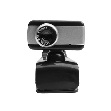 USB Computer Camera 480P Manual Focus Web Camera Drive-free Webcam with External Microphone for Video Chat Online Conference