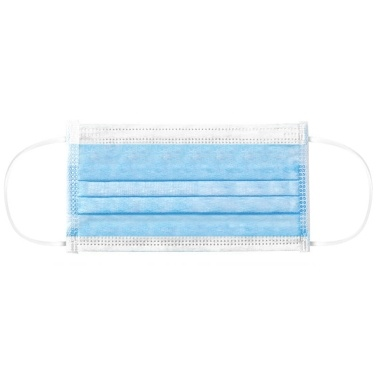 Anti-Splash Staubdichte Schutzbrille + 50 Stück Einwegmaske Vlies Carbon Dustproof Blue