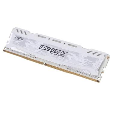 Crucial Ballistix Sport LT DDR4-Speicher 8 GB 2400MHz MT / s CL16 1.2V PC4-19200 UDIMM 288-pin für Desktop-BLS8G4D240FSC