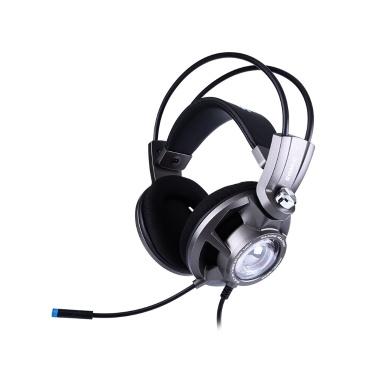 Somic G955 Gaming Headset USB Stecker 7.1 Virtual Surround Sound Kopfhörer