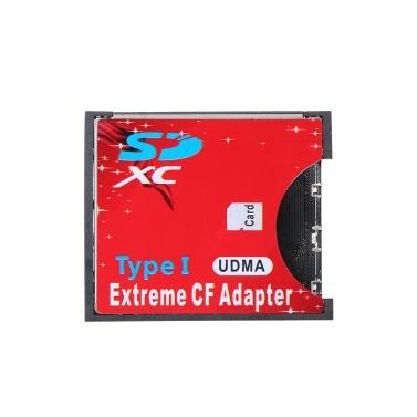 SD-zu-CF-Kartenadapter für Standard-Flash-Typ-I-Karten-Konverter-Adapterkartenleser für SLR-Kamera Unterstützung für WIFI-SD-Karte