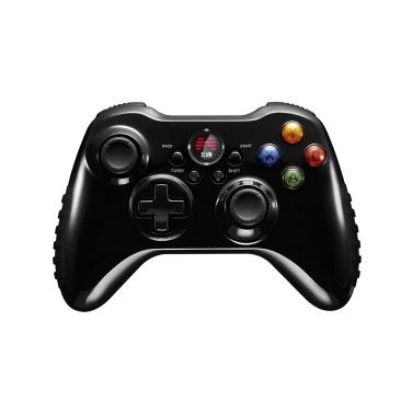 PCアンドロイドPS3用ジョイスティック付きBetop Asura2ゲームコントローラーワイヤレスゲームパッド(ブラック)