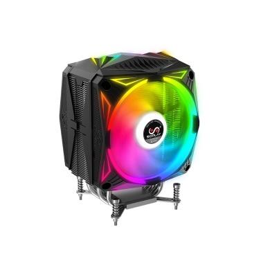 SOPLAY RGB 4PIN PWM Bunte Computergehäuse Lüfter Kühler Hydraulische Lager Unterstützung 5 V RGB