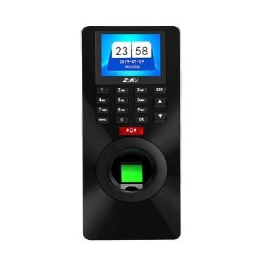 ZK-FP18 Fingerprint Recognition Password Time Attendance Access Control System Lock Door Opener