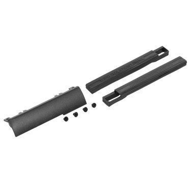 1pc New Hard Drive Caddy Cover + 7mm HDD Isolation Rubber Rails for Dell Latitude E6440