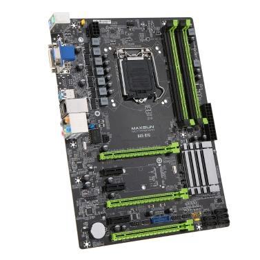 MAXSUN MS-B85-BTC Motherboard Systemboard Intel B85/LGA1150 Socket Processor DDR3 SATA3 USB3.0 ATX Mainboard Miner Mining Desktop