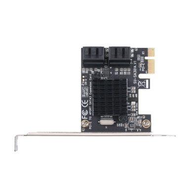 PCIE to SATA Card PCI-E Adapter PCI Express to SATA3.0 Expansion Card 4Port  SATA III 6G for SSD HDD