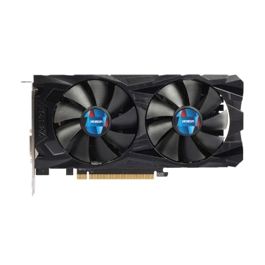 Yeston RX560D-4G D5 GAEA-Grafikkarten Dual Fan Cooling 4 GB Speicher GDDR5 128 Bit DP + HDMI + DVI-D GPU Enhanced Heatsink