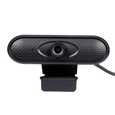 HD 1080 P Web Camera Manual Focus USB Webcam Câmera do computador Microfone embutido Câmera sem unidade para PC Laptop Preto