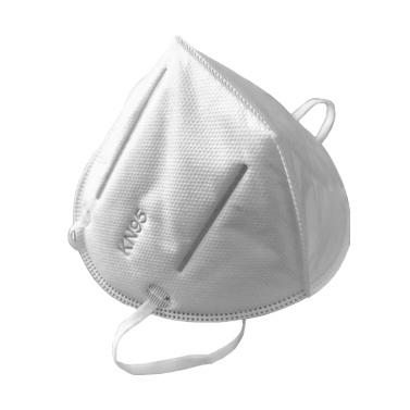 KANGNUOSHI 1-teilige Einweg-KN95-Maske 95% Filtration + 50-teilige medizinische Einwegmaske + 1-teilige Anti-Spuck-Schutzbrille