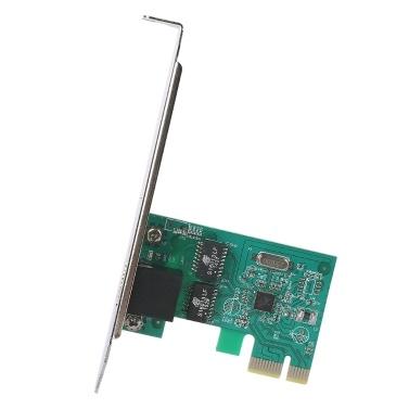 PCI Express PCI-E Wireless Network Card 1000Mbps PCI-E Gigabit Network Card 10/100/1000M RJ45 Ethernet Network Card