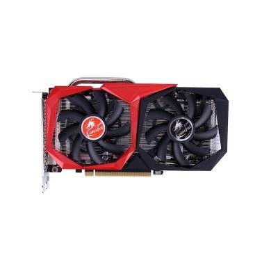 Bunte GeForce GTX 1660 SUPER NB 6G Grafikkarte 1785MHz GDDR6 6GB B192Bit Wärmeableitung Gaming GPU