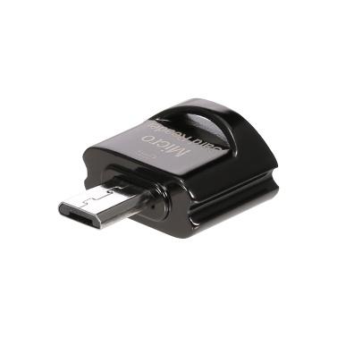 JY-924 Mini OTG Kartenleser Unterstützung Micro USB Port Speicherkartenleser für Micro USB Port Telefon Tablet Laptop Grau