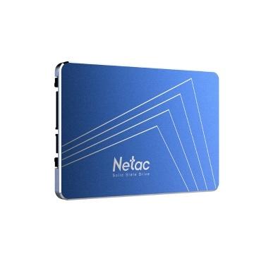 45% de réduction sur le disque SSD Netac N610S 2,5 pouces SATAIII 6 Gb / s, vitesse R / W 500 Mo / s seulement 26,45 € sur tomtop.com + livraison gratuite