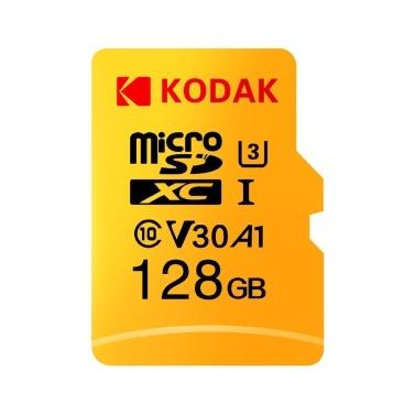 Kodak Micro SD Card 128 Go, 100 Mo / s T
