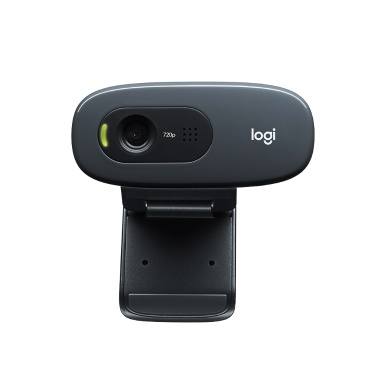 Logitech C270 HD 720p Widescreen Video Webcam Computador Laptop PC Camera para videochamada e gravação