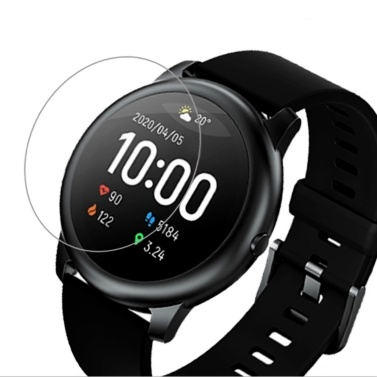 Global Version Haylou Smart Watch Solar LS05 with 2Pcs Screen Protectors