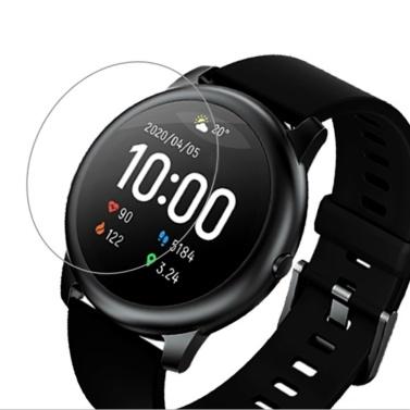 Globale Version Haylou Smart Watch Solar LS05 mit 2-teiliger Displayschutzfolie