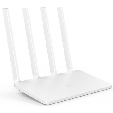 Xiaomi MI WiFi Wireless Router 3C 2.4GHz Smart Mini WiFi Repeater 4 Antennes 802.11n 300Mbps Support de contrôle d'APP pour iOS Android