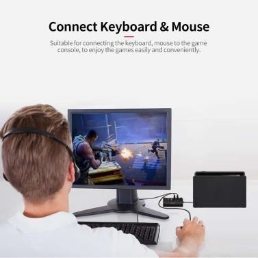 iPega PG 9133 Gaming-Controller für Maus- und Tastaturkonverter-Adapter für Switch PS4 X1