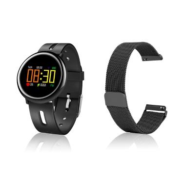 10 € de réduction pour HB08 Smart Bracelet écran coloré avec bracelet en acier magnétique classique seulement € 29,23
