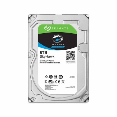 Seagate SkyHawk 4TB/6TB/8TB Surveillance HDD 3.5 inch SATA 6Gb/s 5900RPM 64MB Video Surveillance HDD Internal Hard Drive ST4000VX007