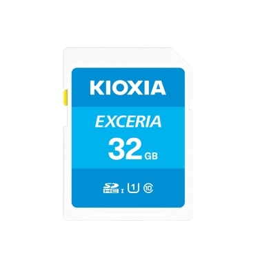 KIOXIA 32GB SD Memory Card U1 100MB/s Reading Speed Support Full HD Video  Memory Card for Digital Camera/Laptop/Tablet
