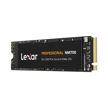 Lexar NM700 Solid State Drive 256GB M.2 NVMe SSD High Speed M.2 2280 PCle Gen3x4 4-channel Low Power Consumption NVMe SSD