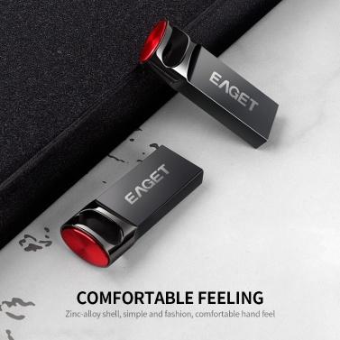 EAGET U81 USB Flash Drive 32GB Metal U Disk USB3.0 Portable High Speed Flash Drive Large Capacity for PC Laptop