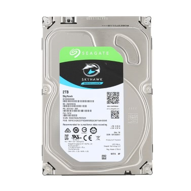 Seagate 2TB Video Surveillance HDD Internal Hard Disk Drive 7200 RPM SATA 6Gb/s 3.5-inch 64MB Cache ST2000VX000