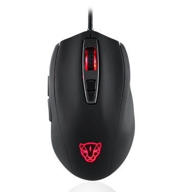 MOTOSPEED V60 Gaming Maus USB Wired RGB Hintergrundbeleuchtung PMW3325 DPI5000 Gamer PC Maus