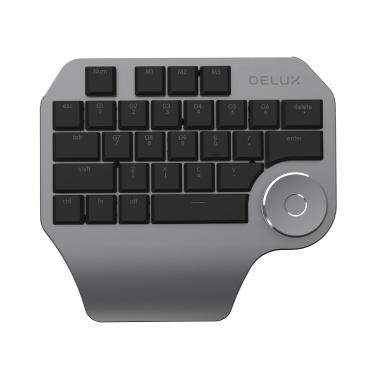 Delux T11 Designer-Tastatur mit Smart Dial