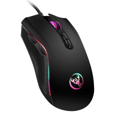 HXSJ A869 Mouse para juegos con cable