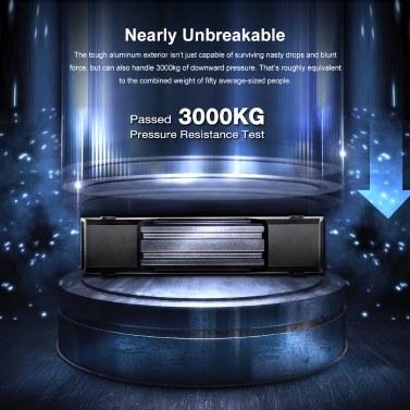 ADATA HD830 Externe Festplatte Tragbare Festplatte 5 TB USB3.1 Anti-Schock-Datenverschlüsselung für unterwegs (Blau)