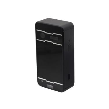 Mini-Laserprojektionstastatur BT Wireless Virtual Projector mit Englisch QWERTY für iOS Android Tablet PC (Schwarz)