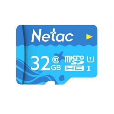 Netac 128 GB TF-Karte Micro-SD-Karte mit großer Kapazität UHS-1 Class10-Hochgeschwindigkeitsspeicherkarte Kamera Dashcam-Monitore Micro-SD-Karte