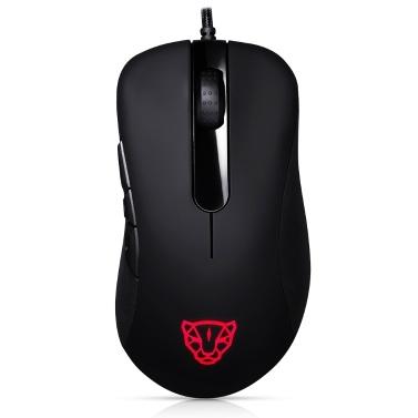 Motospeed V100 Professionelle USB Wired Gaming Mouse Esport Spielmäuse 6200 DPI RGB Licht für PC Laptop