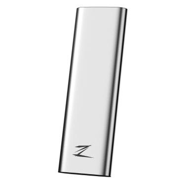 Netac 128 GB Typ-c USB 3.1 Mobile Solid-State-Festplatte Z Dünne tragbare SSD 30 g Aluminiumlegierung Stoßfeste Festplatte Gen1 High Speed
