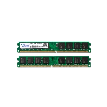 Vaseky 2G Memory DDR2 800 2G Desktop Memory High Speed Read/Write Noiseless Desktop Memory DDR2 800MHz