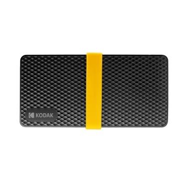 Mobiles SSD-Solid-State-Laufwerk der KODAK X200-Serie mit geringem Stromverbrauch Schnelles, geräuscharmes Lesen und Schreiben 256 GB