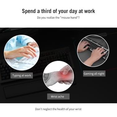 Ajazz Mechanical Keyboard Wrist Pad Ergonomic Comfort Memory Foam Keyboard Wrist Rest Pad For Office Computer