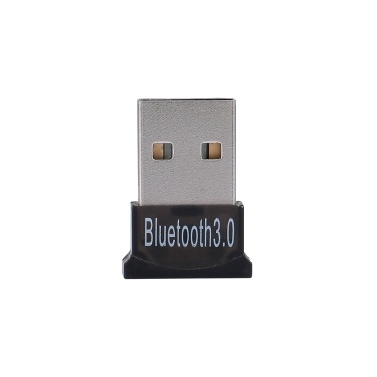 BT USB Dongle USB2.0 BT Adapter BT3.0+EDR Audio Receiver Transmitter for Windows XP/7/8/10/Vista Black