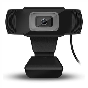 35% OFF HXSJ A870 USB Webcam 480P Fixed