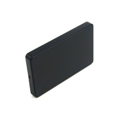 USB2.0 zu IDE-Festplattengehäuse 2,5-Zoll-IDE-Festplattengehäuse Tragbare Festplattenbox Werkzeugloses Festplattengehäuse Schwarz