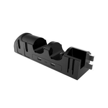 iPega PG-9187 6-in-1-Ladedockständer Basis-Ladeständer Passend für Nintend Switch Pro White
