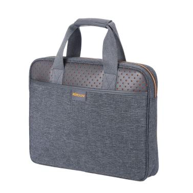 """KKmoon Zipper tragbare Geschäfts-Aktenkoffer-tragender Hülsen-Beutel-Handtasche 14 """"Zoll für MacBook Ultrabook Laptop Notebook"""