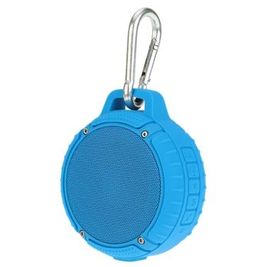 KKmoon Tragbarer Wireless BT Lautsprecher Lautsprecherbox Spieldose mit 3D Stereo Freisprech Aufruf Wasserdicht Staubdicht Fallschutz für Outdoor Reisen