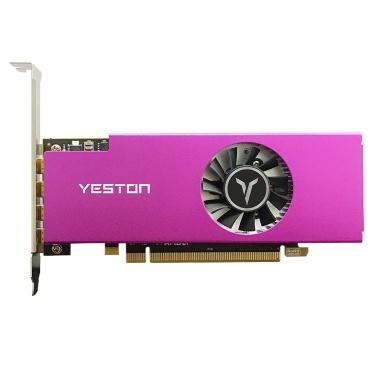 Yeston R7 350 4G D5 4MINIDP 4-screen Graphics Card Support Split Screen 4G/128bit/GDDR5 700/4500MHz with 4 MiniDP Ports